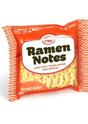 Fred Sticky Notes Ramen Notes