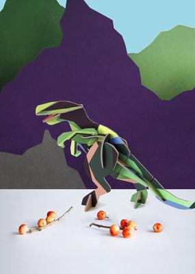 Studio Roof Figurine Kit T-Rex