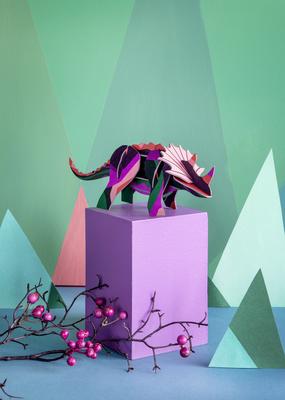 Studio Roof Figurine Kit Triceratops