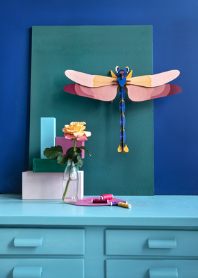 Studio Roof Wall Decoration Kit Giant Dragonfly
