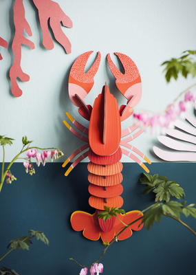 Studio Roof Wall Decoration Kit Giant Lobster