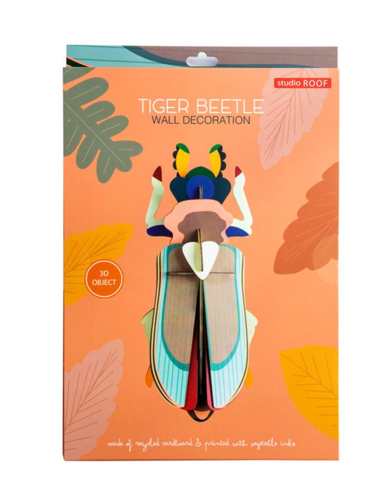 Studio Roof Wall Decoration Kit Large Tiger Beetle
