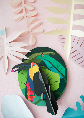 Studio Roof Wall Decoration Kit Toucan