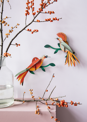 Studio Roof Wall Decoration Paradise Birds Obi