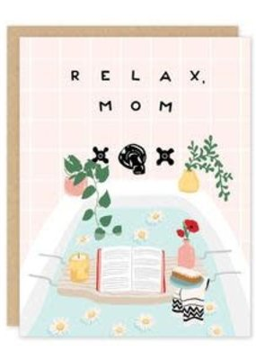 Party of One Card Relax Mom