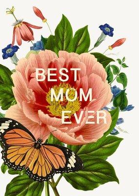P Flynn Design Card Best Mom Ever
