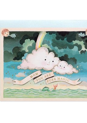 joo joo paper Card Mother's Day Clouds