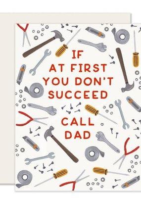 Slightly Stationery Card Call Dad