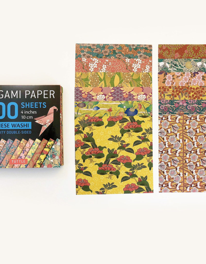 10 cm Origami Paper 300 sheets Japanese Washi Patterns 4