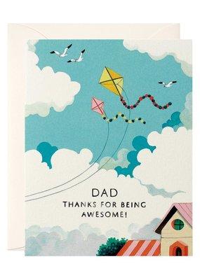 joo joo paper Card Father's Day Kites