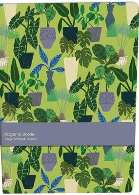 Roger La Borde Large Paperback Journal Jungle Interior Blank