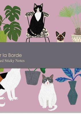 Roger La Borde Sticky Notes Cat Palais