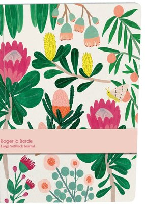 Roger La Borde Large Paperback Journal King Protea Blank