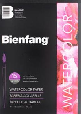 Bienfang Watercolor Pad 9 x 12 Inches 140lb