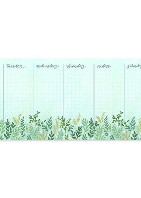 1 Canoe 2 Weekly Notepad Mint Meadow