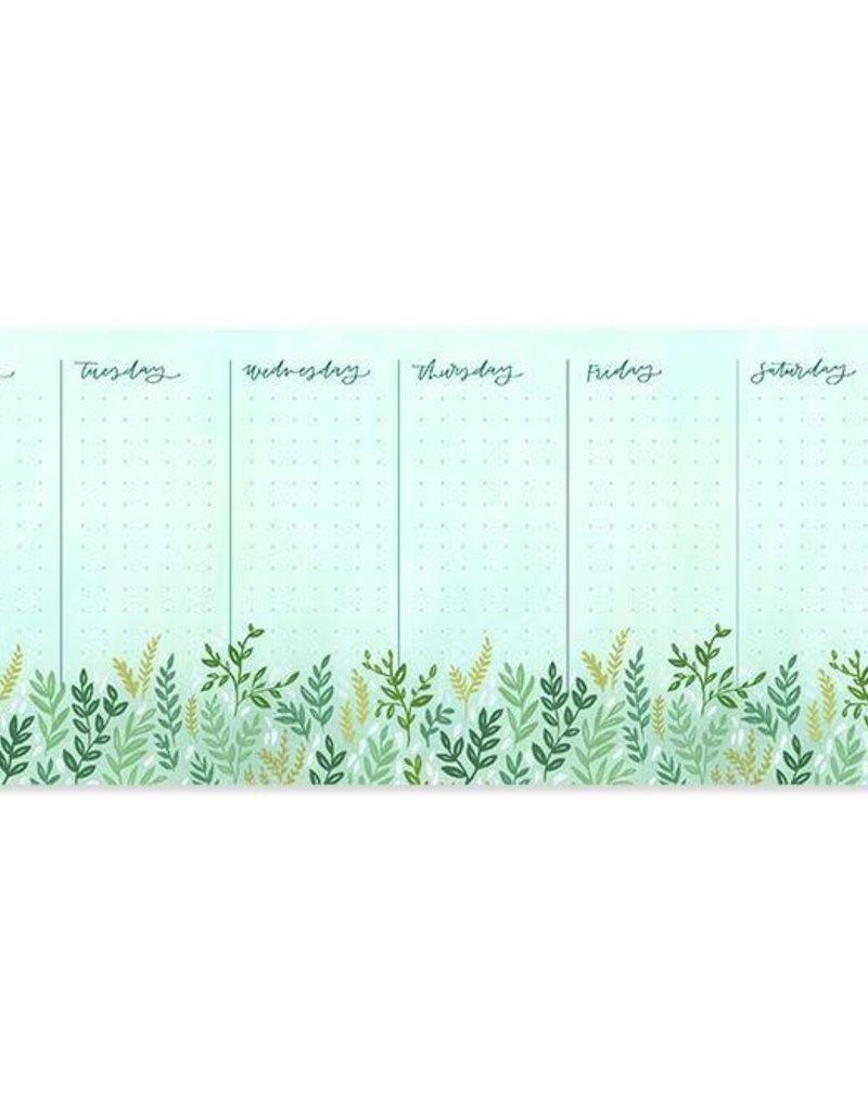 1 Canoe 2 Weekly Notepad Mint Meadow