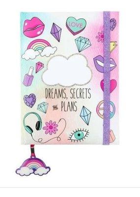 3C4G Dreams Elastic Glitter Journal