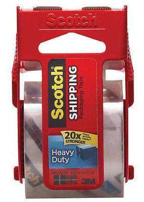 3M Scotch Mailing Tape Clear