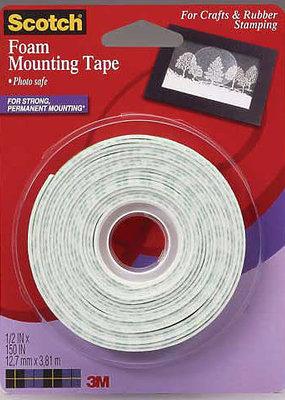 3M Scotch 4013 Craft Foam Mounting Tape
