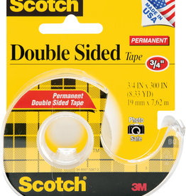 3M Scotch Tape Double Sided .75 x 300 inch