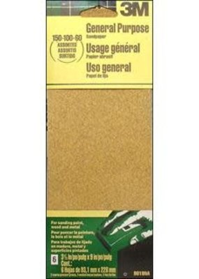 3M Sandpaper Assorted Pack