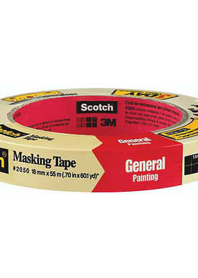 3M Scotch Masking Tape .75 inch x 60 Yard