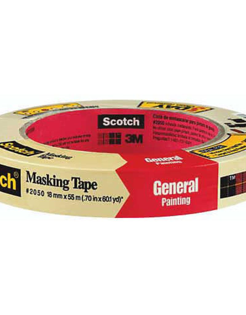 3M Scotch Masking Tape .75 inch x 60 Yard