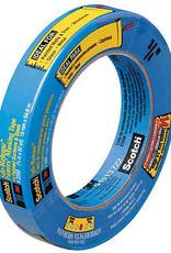 3M Scotch Painter's Masking Tape Blue 1 Inch X 60 Yds