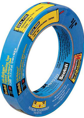 3M Scotch Painter's Masking Tape Blue 1 Inch X 60 Yds