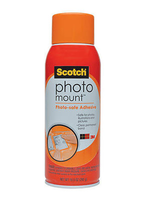 3M Adhesive Spray Photo Mount 10.3 oz