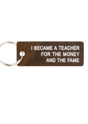 About Face Keychain Fame
