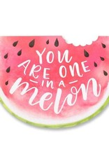 Alexis Mattox Design Die Cut Card One In A Melon