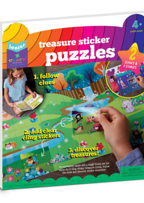 Ann Williams Craft-tastic Jr Sticker Puzzle Adventure