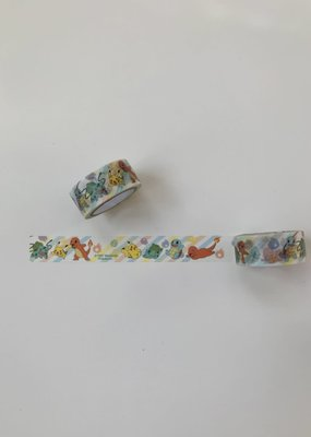 Washi Pokemon Characters White