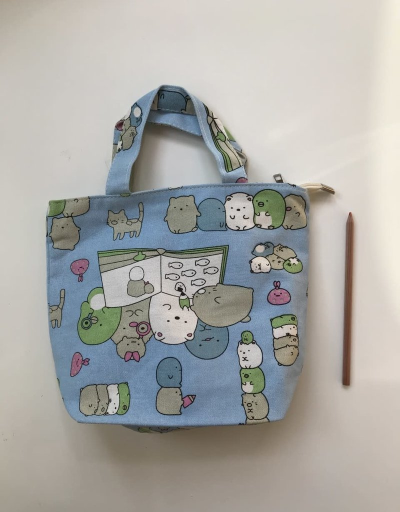 collage Bag Sumikko Gurashi Blue