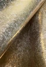 Barefoot Fibers Wool Felt 8x12 Sheet Metallic Gold