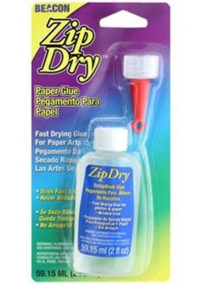 Beacon Beacon Zip Dry Paper Glue 2 Ounce Carded