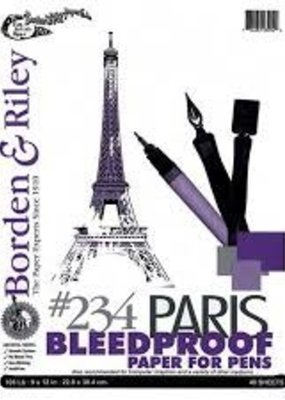 Borden & Riley Paris Paper 40 Sheets 11X14