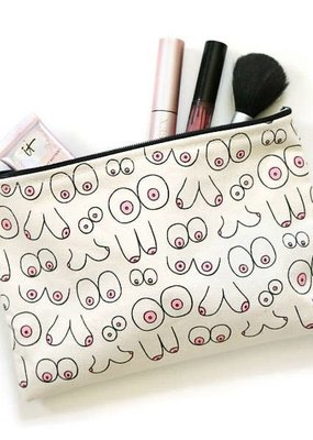 Unblushing Makeup Bag Pouch Boob