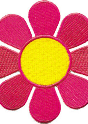 C & D Visionary Patch Neon Daisy