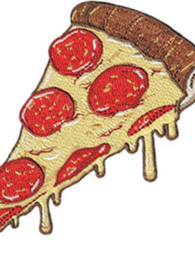 C & D Visionary Patch Pizza Slice
