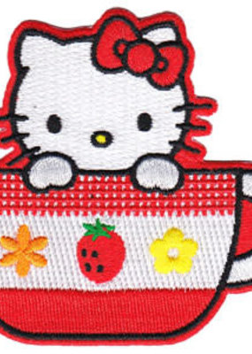 C & D Visionary Patch Hello Kitty Tea Cup
