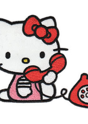C & D Visionary Patch Hello Kitty Phone