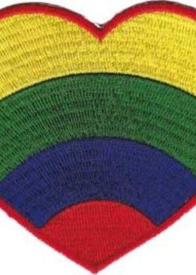 C & D Visionary Patch Rainbow Heart