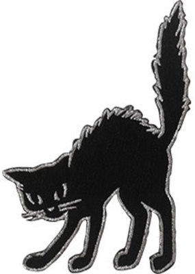 C & D Visionary Patch Black Cat
