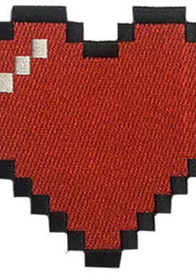 C & D Visionary Patch Pixel Bitmap Heart