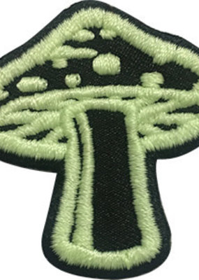 C & D Visionary Patch Glow In the Dark Mushroom