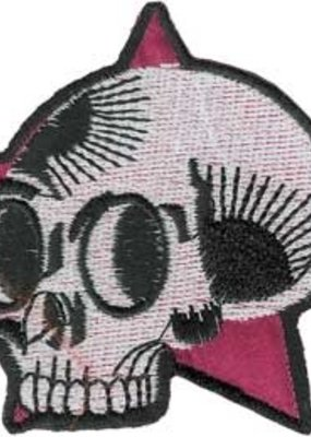 C & D Visionary Patch Pink Star Skull