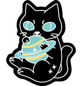 C & D Visionary Sticker Kitty Planet