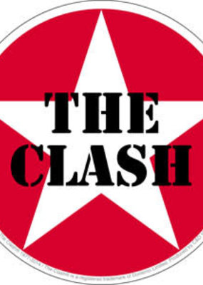 C & D Visionary Sticker The Clash